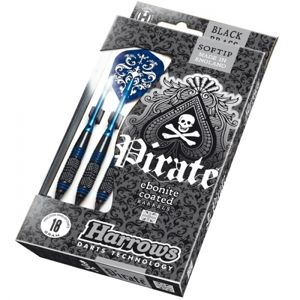 Darts nyíl Harrows Pirate Soft 16g K Blue 3 db