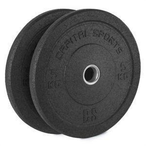 Gumis súlytárcsa Capital Sports Renit 2 x 5 kg
