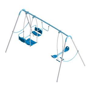 Kerti gyerekhinta Triple Swing