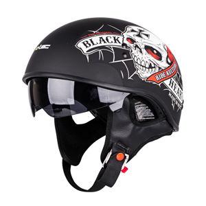 Motoros bukósisak W-TEC V535 Black Heart
