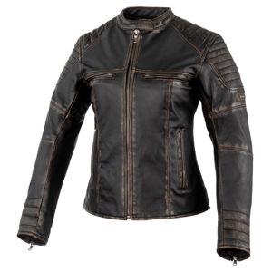 Női bőr motoros kabát Rebelhorn Hunter Pro Lady CE