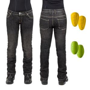 Női motoros farmer nadrág W-TEC C-2011 fekete