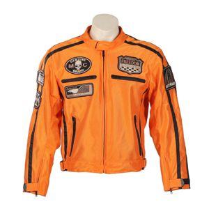 Nyári motoros kabát BOS 6488 narancssárga